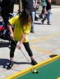 Andrea + golf